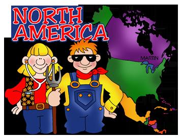 free north america clip art by phillip martin